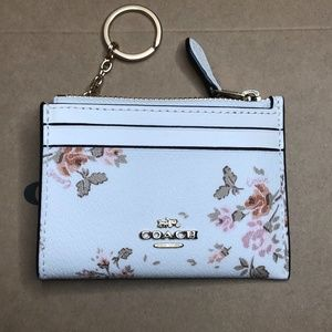 Coach Coin Purse ID Mini Skinny Key Card Case